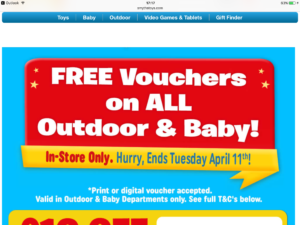 Pretty Smyths Money Off Vouchers Off All Outdoor And Baby Instore Only  With Gorgeous Smyths Money Off Vouchers Off All Outdoor And Baby Instore Only Valid  Until  With Archaic Garden Centre Stourbridge Also Prebend Gardens In Addition Garden Inn Hilton And Garden Fountain Ideas As Well As Garden Shepherd Hooks Additionally Garden Shed Images From Beadyeyebargainscom With   Gorgeous Smyths Money Off Vouchers Off All Outdoor And Baby Instore Only  With Archaic Smyths Money Off Vouchers Off All Outdoor And Baby Instore Only Valid  Until  And Pretty Garden Centre Stourbridge Also Prebend Gardens In Addition Garden Inn Hilton From Beadyeyebargainscom